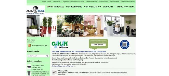 Firmenshop der GKR Germany