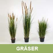 GKR Kunstpflanzen Gräser
