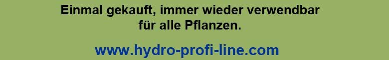 Hydro Profi Line Pflanzsysteme